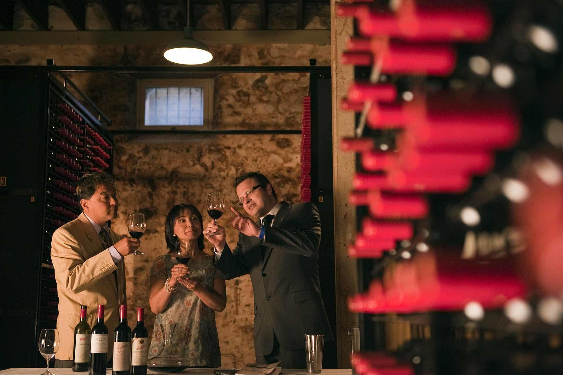 Wine Tasting at Penfolds Magill Estate