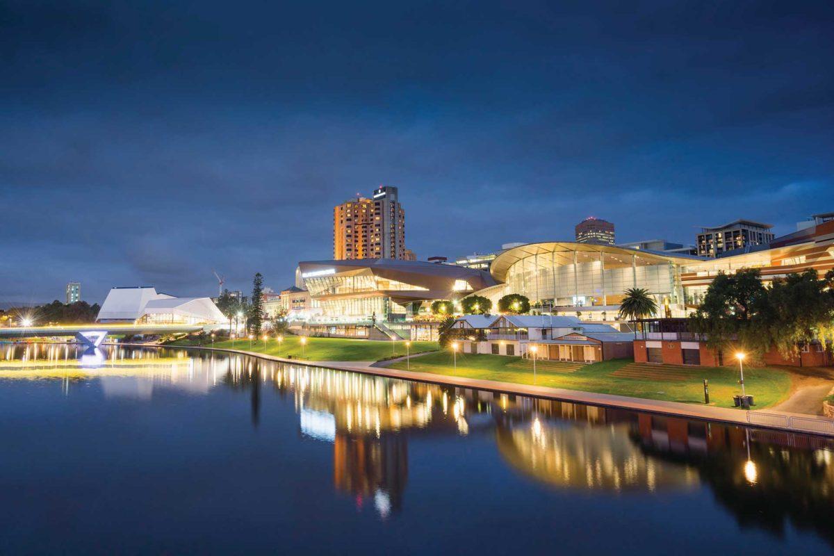 Adelaide's New Riverbank Precinct / Photo: Ben Goode