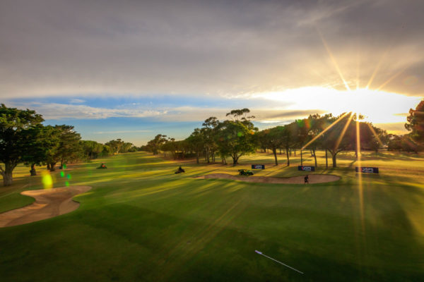 2019 Women's Australian Open - early morning image of golf course