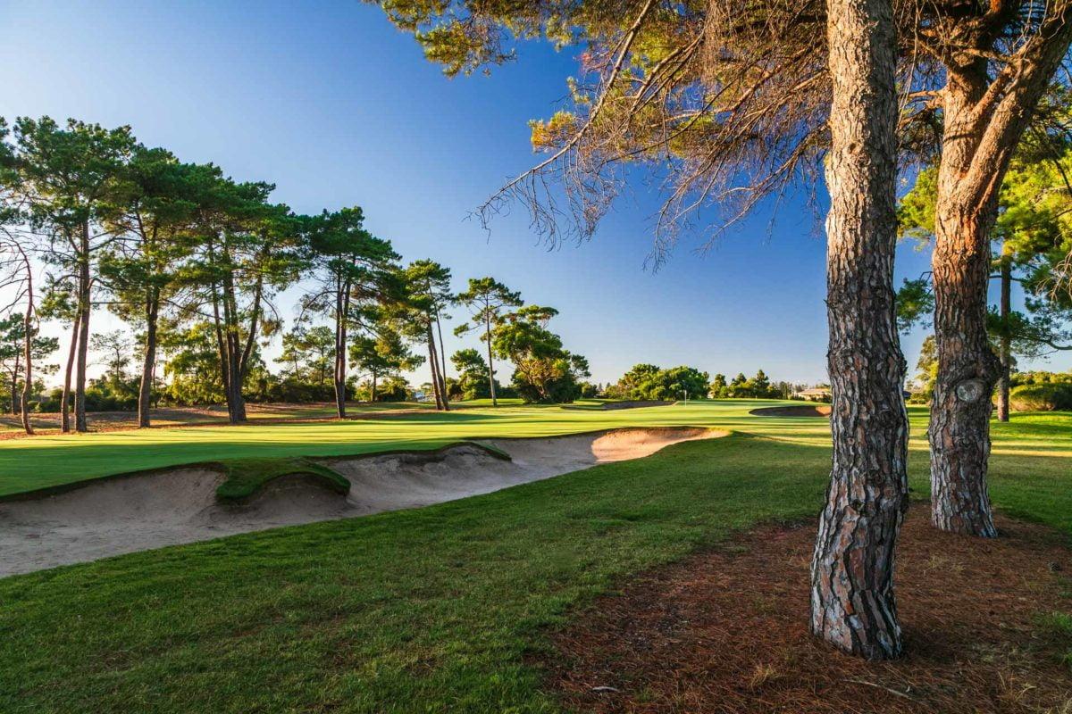 The Grange Golf Club - Par 4, 16th Hole West / Photo: David Brand