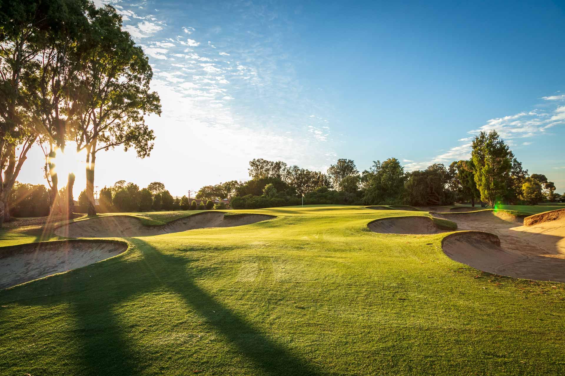 The Grange Golf Club - Par 3, 3rd Hole East / Photo: David Brand