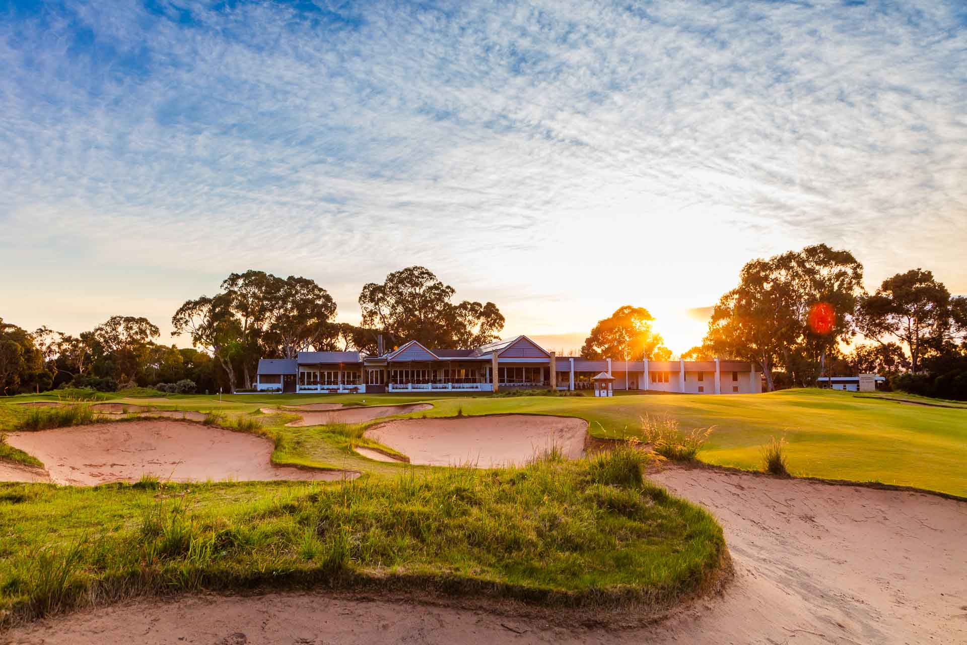 Kooyonga Golf Club - Par 4, 18th Hole / Photo: David Brand
