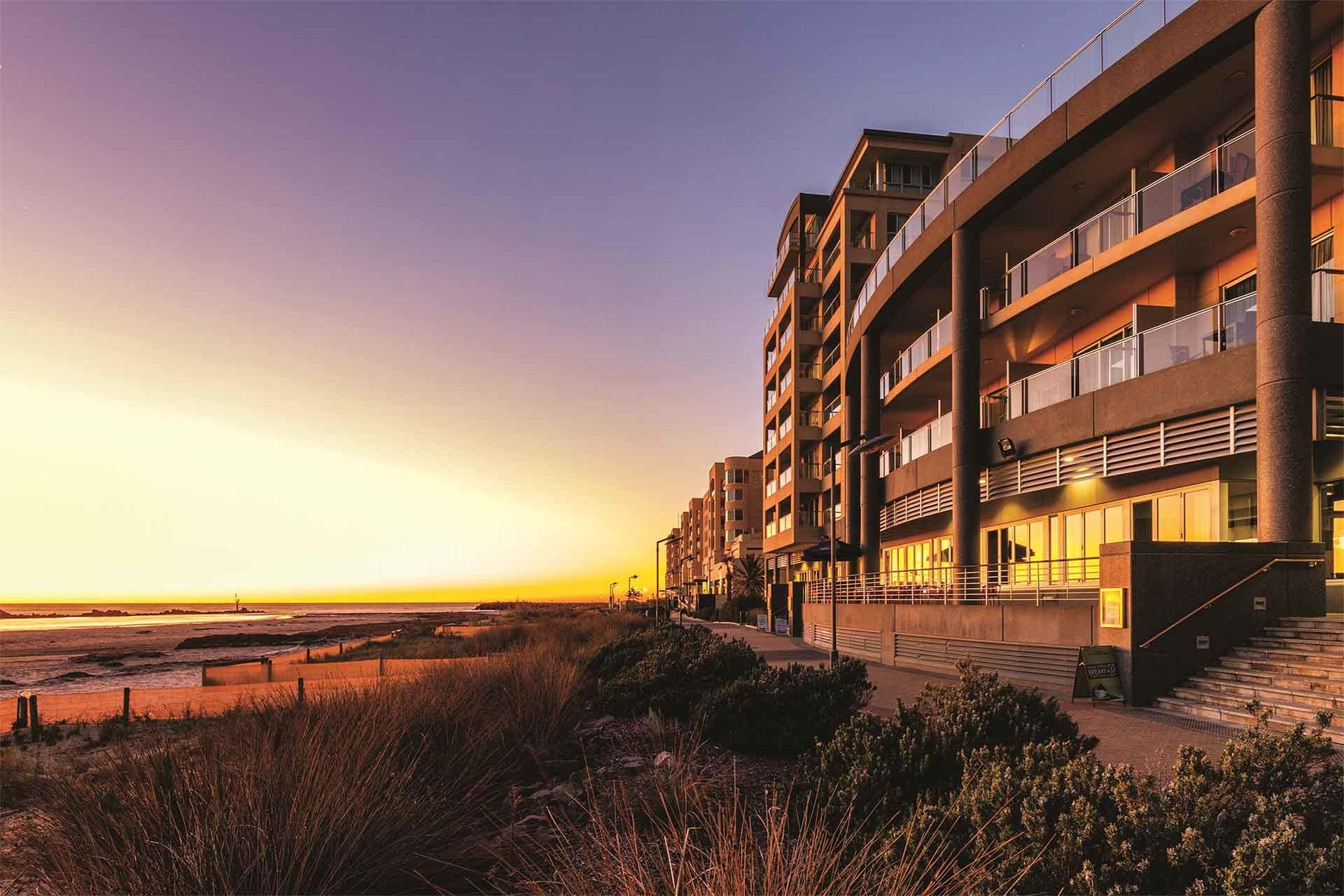 Stunning Oaks Plaza Pier Glenelg Sunset, South Australia
